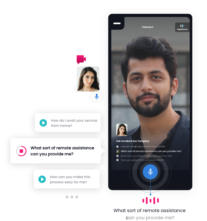 Automated video chat experience