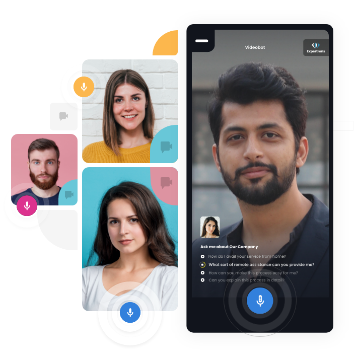 Virtually indistinguishable from a video call