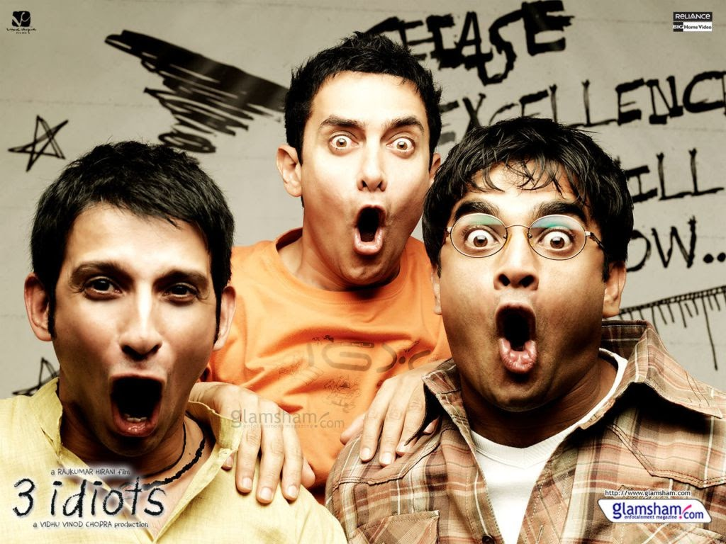 Best motivational movie- 3 Idiots