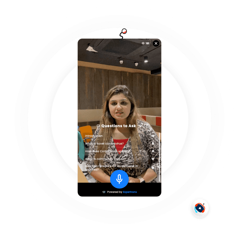 AI Videobots - Help's in your business by direct communication for need.