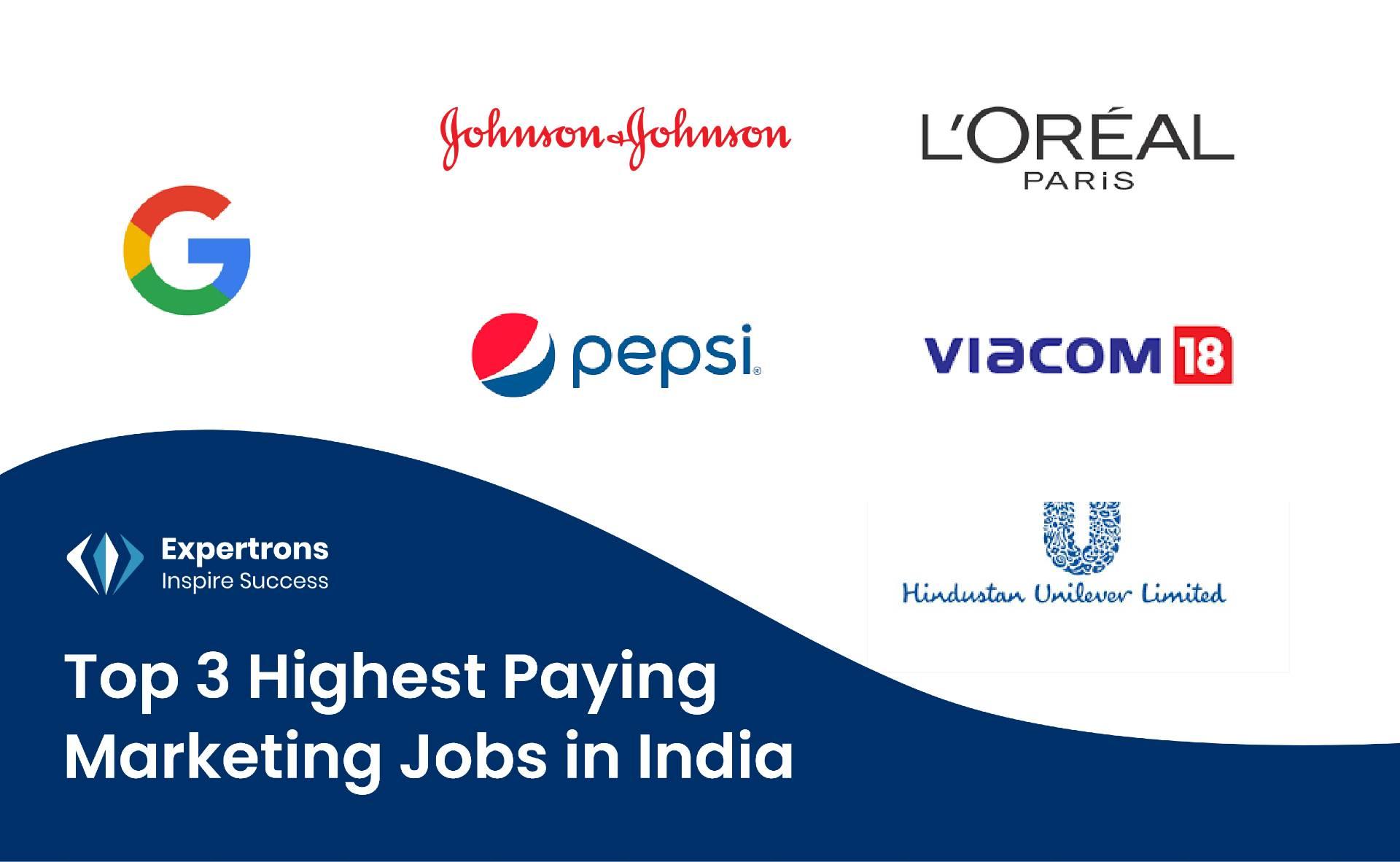 Marketing Jobs, 3 Highest Paying Marketing Jobs