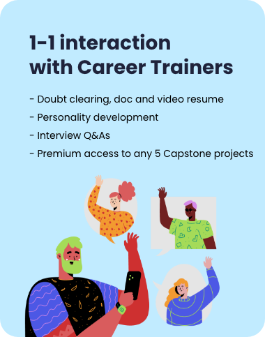 online interaction with career trainers