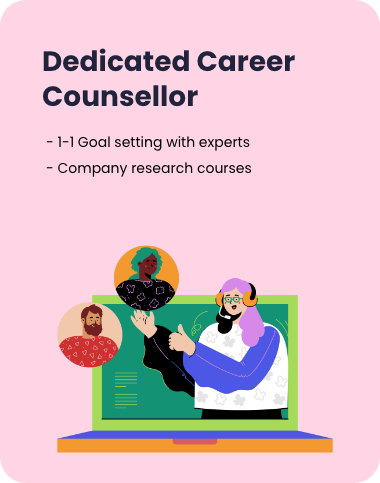 dedicated career counsellor