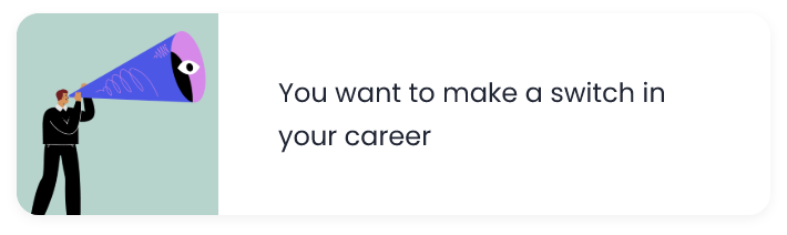Switch your career