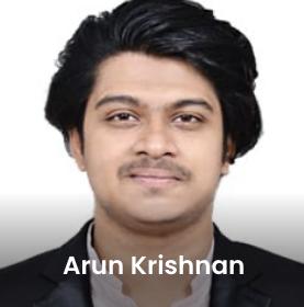 Arun Krishna Expertrons Aspirants